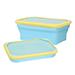 DR.SI矽膠摺疊餐盒-馬卡藍
