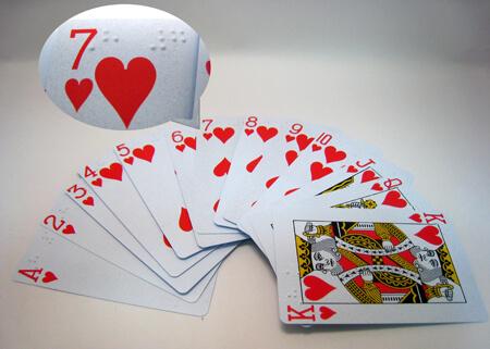點字撲克牌
